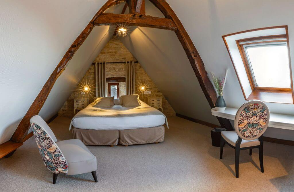 Chambre cosy sous pente