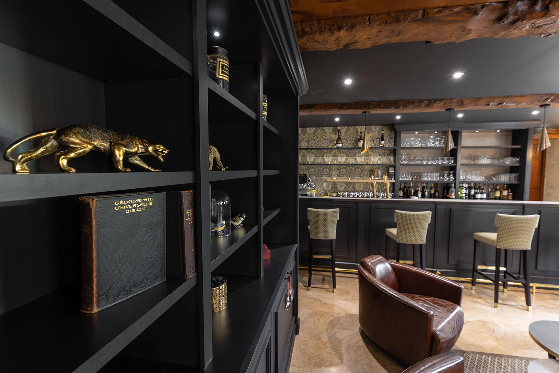 Vue intérieur du bar