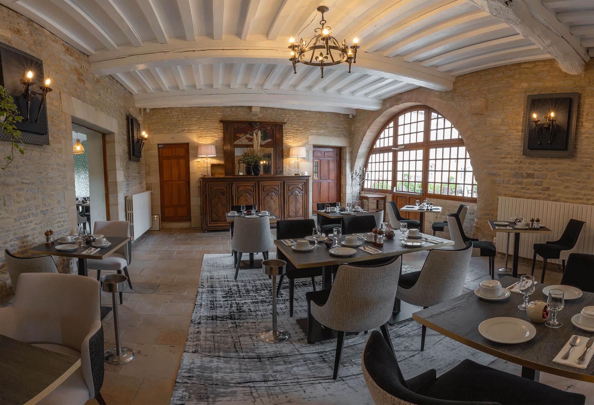 Vue intérieur du restaurant